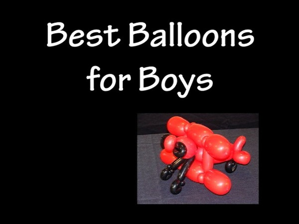 """Best Balloons for Boys"" with Tonya McNeill - Balloon Twisting Instructional Video"