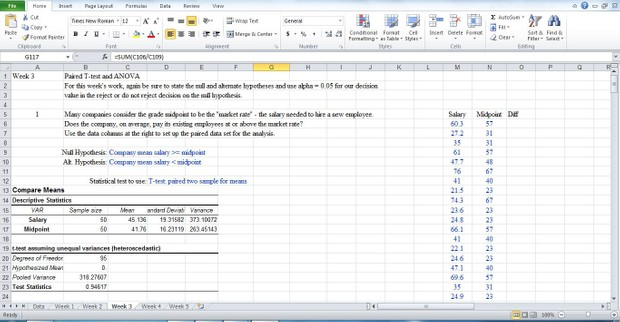 Bus 308 All week solution New Data 2016 (Please Look data on image)