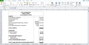 Penn Foster Exam 061579 Create the following financial statements for J & L Accounting, Inc