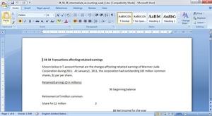 Assignment Intermediate Accounting II Week 4