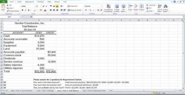 Accounting 504 case study