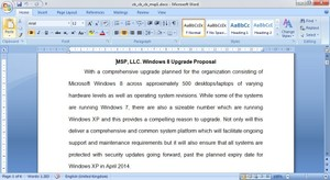 Desktop Migration Proposal