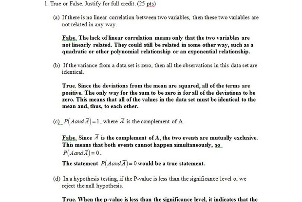STAT200 : Introduction to Statistics   Final Examination, Fall 2014