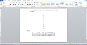 MA260 Statistical Analysis I Assignment 05