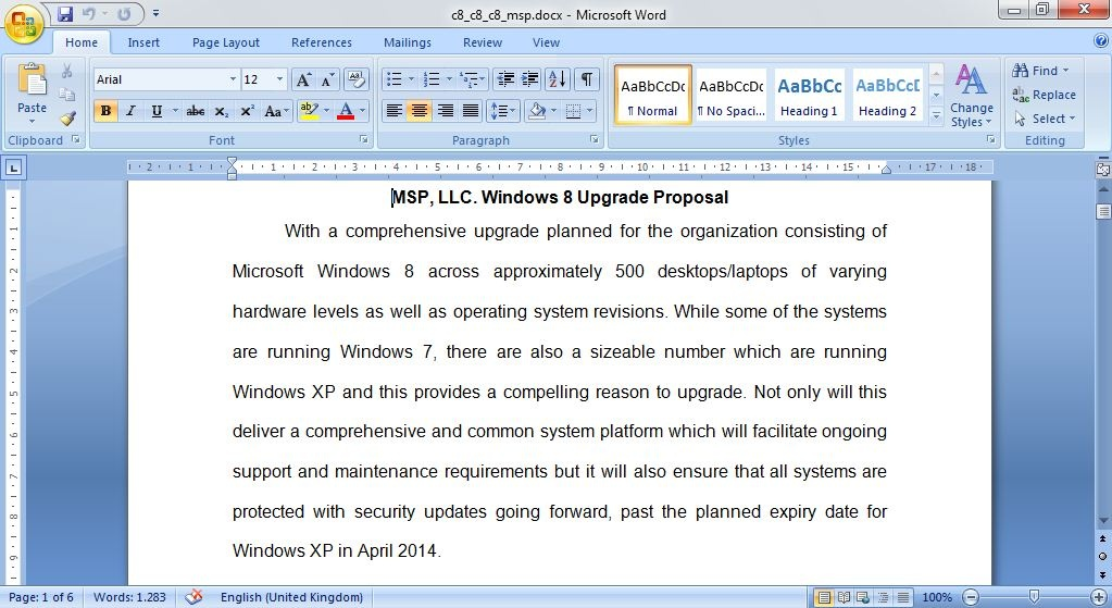 msp llc migration proposal Enjoy continuum's resource center,  presenting your msp proposal:  how to successfully execute your bdr migration.