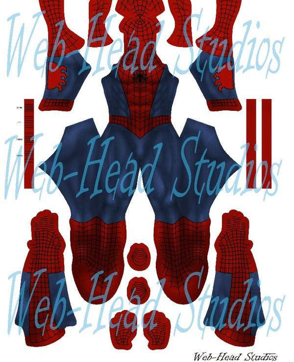 Classic comic style Spiderman