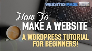Wordpress For Business create your first Website