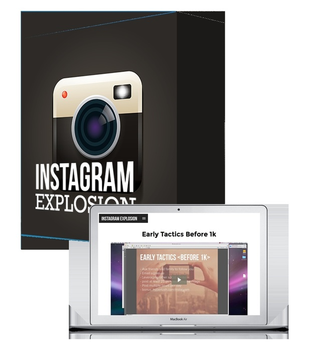 Instagram Explosion - Gain 200k Followers And Make 6 Figures On Instagram!