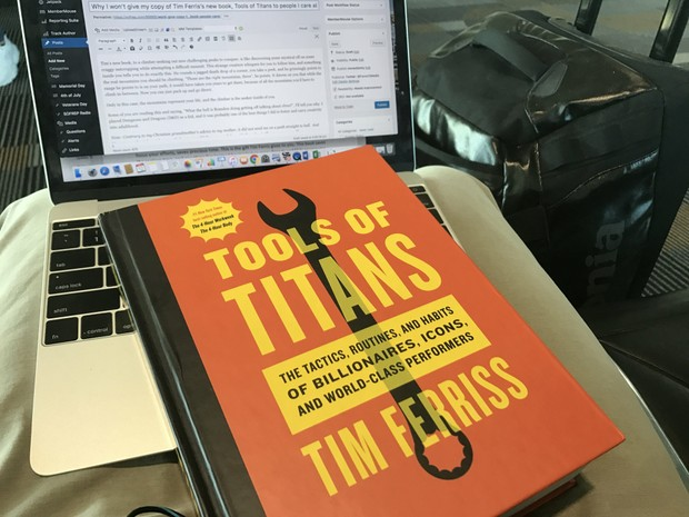 Tools of Titans: The Tactics, Routines, and Habits of Billionaires