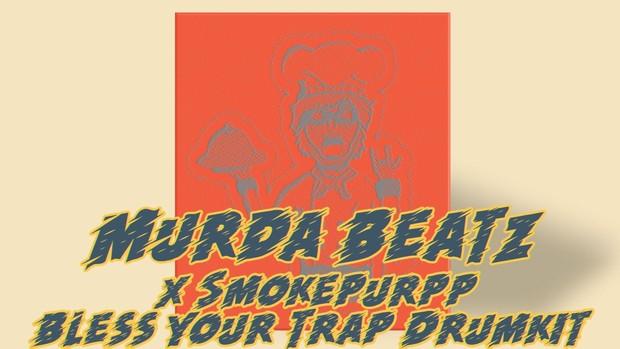 Murda Beatz x Smokepurpp Bless Your Trap Drum Kit