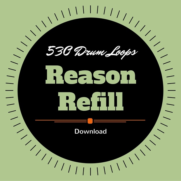 530 Free Drum Loops for Reason
