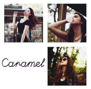 Caramel Photoshop Curve