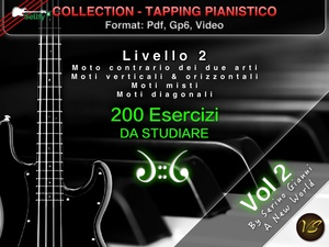 TAPPING PIANISTICO COLLECTION - VOLUME 2 MOTI 2 ARTI