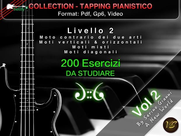TAPPING PIANISTICO COLLECTION - VOLUME 2 MOTI 2 ARTI