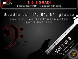 VOL 1 - 1°, 5°, 8° GRADI - FORMAT PDF HD - (IN OMAGGIO FILE GP6)