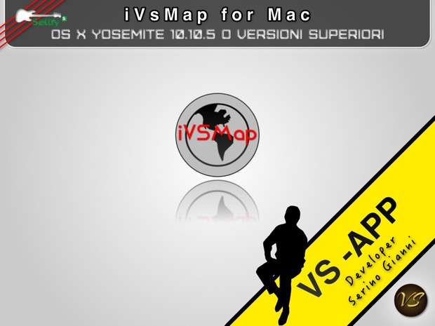 iVsMap - ONLY MAC VERSION  1.0 MAC 32 bit (FREE)