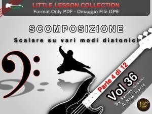 LITTLE LESSON VOL 36 - Format Pdf (in omaggio file Gp6)