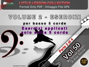 LITTLE LESSON VOL 50 - Format Pdf (in omaggio file Gp6)