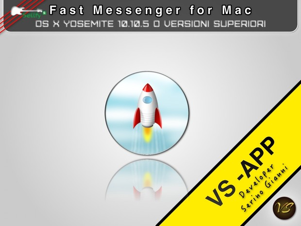 FastMessenger - ONLY MAC 32 bit  (FREE)