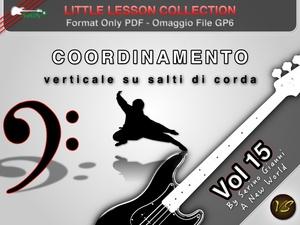 LITTLE LESSON VOL 15 - Format Pdf (in omaggio file Gp6)