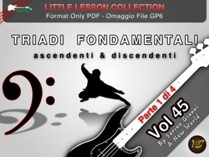 LITTLE LESSON VOL 45 - Format Pdf (in omaggio file Gp6)