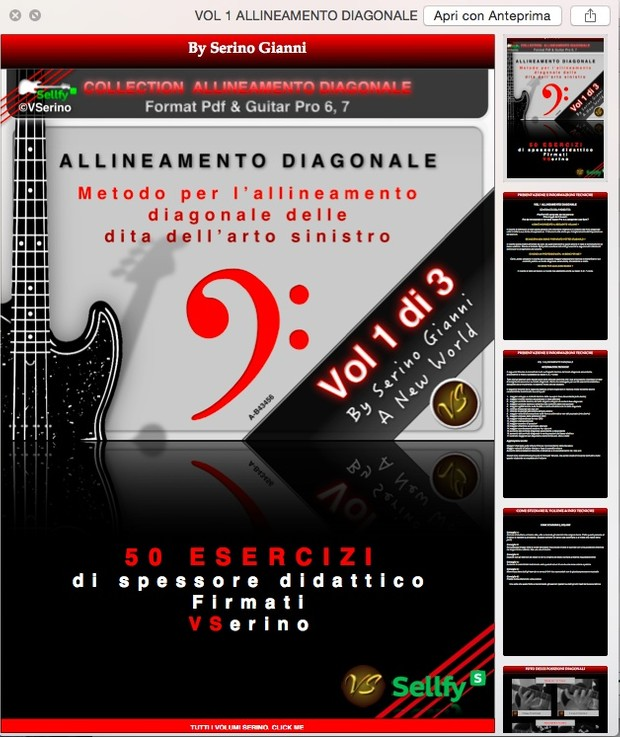 VOL 1 ALLINEAMENTO DIAGONALE