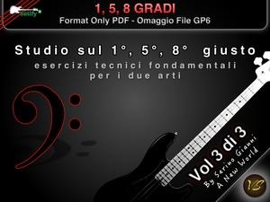 VOL 3 - 1°, 5°, 8° GRADI - FROMAT PDF HD - (IN OMAGGIO FILE GP6)