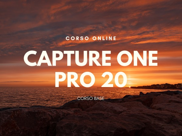 Capture One Pro 20 - Corso Base