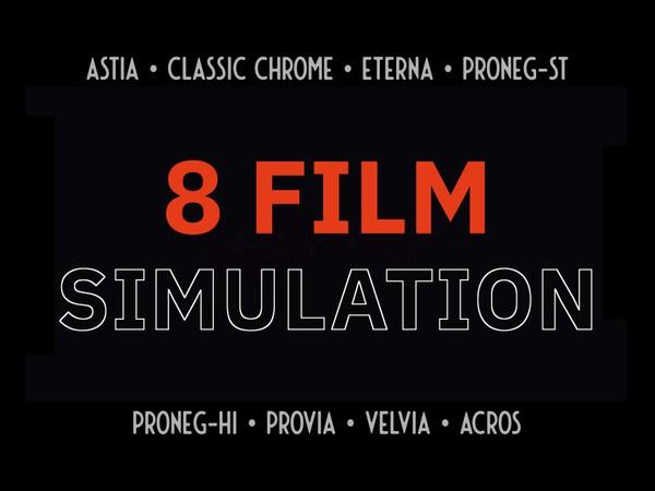 8 Fujifilm LUTs Simulation (2020)