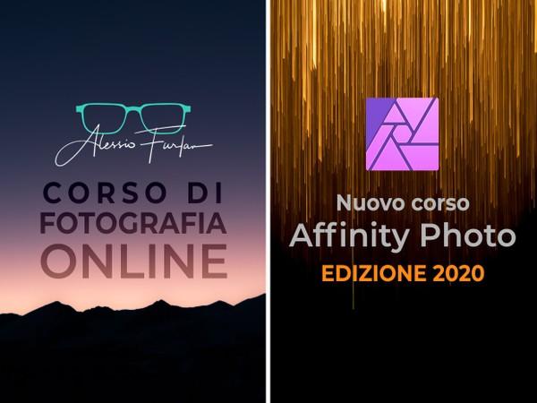 Corso di Fotografia + Affinity Photo