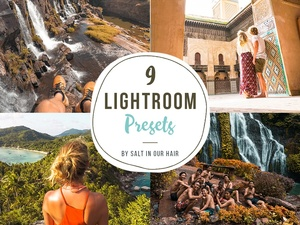 Salt in our Hair - Lightroom & Photoshop Presets (2017)