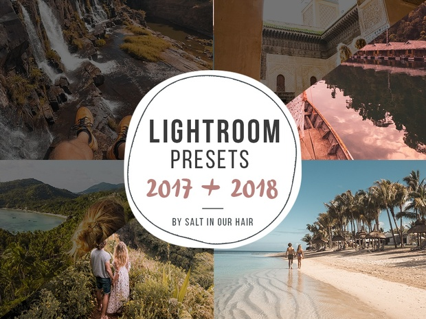 Lightroom Professional Presets 2018 + Presets 2017 - Salt in our Hair