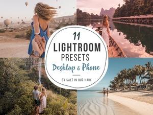 11 Lightroom Presets - Phone & Desktop - Instagram (2018)
