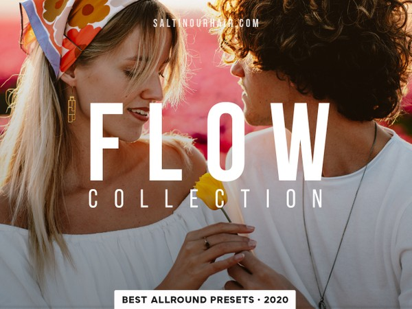 Flow Collection - PHONE + DESKTOP - Lightroom Presets