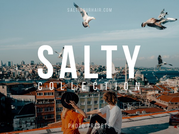 Salty Collection - DESKTOP - Lightroom Presets
