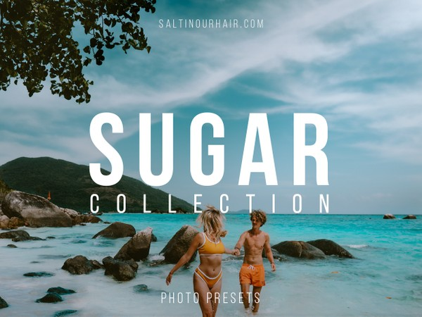 Sugar Collection - PHONE + DESKTOP - Lightroom Presets