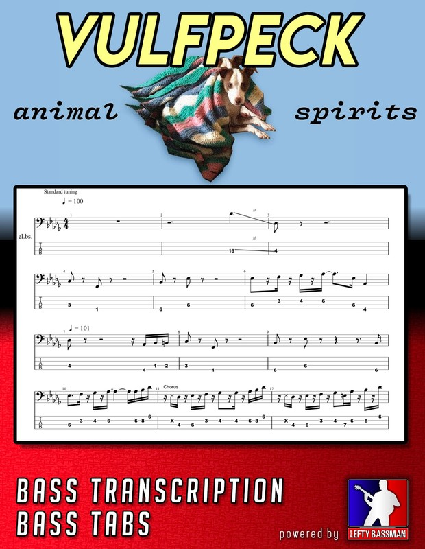 Vulfpeck - Animal Spirits /// Bass Transcription with Tabs