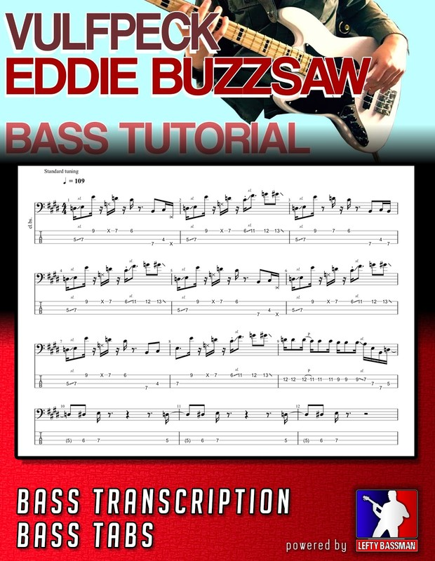 Vulfpeck - Eddie Buzzsaw // Bass Transcription with Tabs