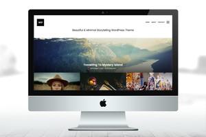 Storytelling WordPress Theme