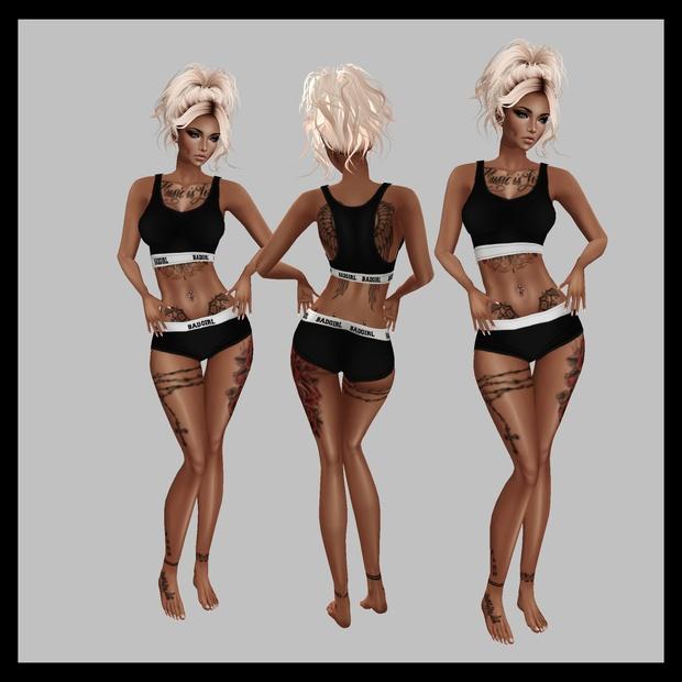 Badgirl Fitness RL Fits Sis3d meshes