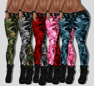 Camo Pants Sizes RL, RLL , RLS  5 colors .png