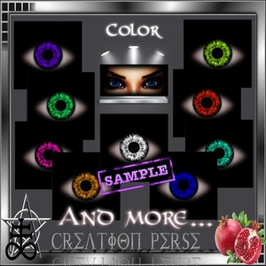 42 Textures eyes color
