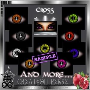 42 Textures eyes cross