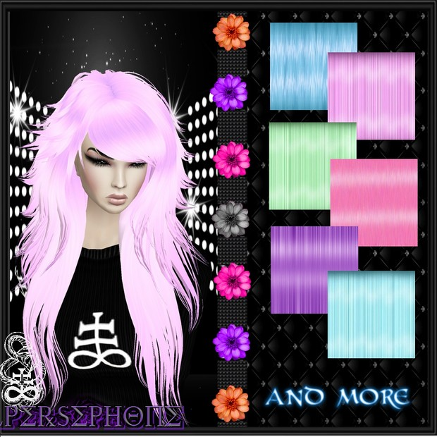 Hair pastel 15 texture