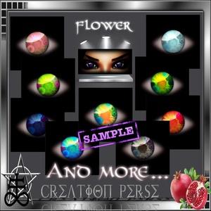 35 Textures eyes flower