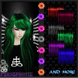 Hair 30 Texture