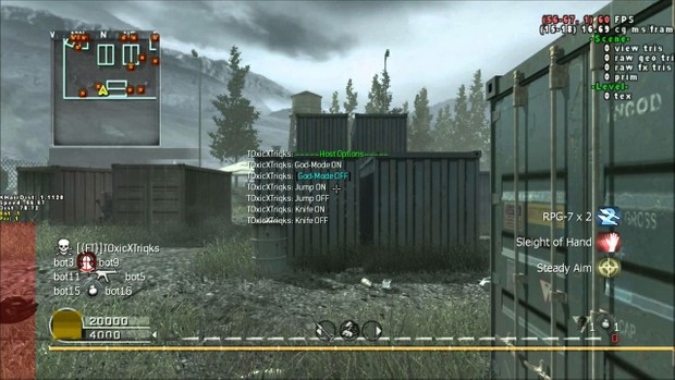Call Of Duty 4 mod menu infections!