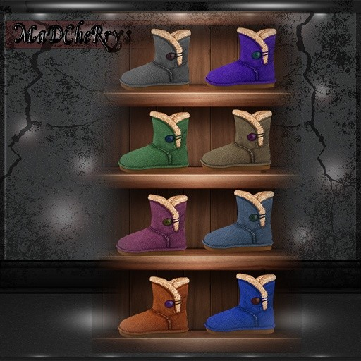 MaD Files ugg boots 26colors