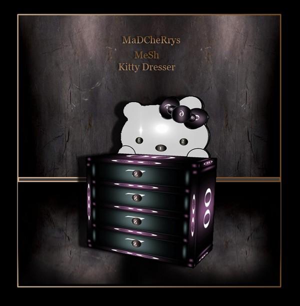 MaD Mesh kitty Dresser