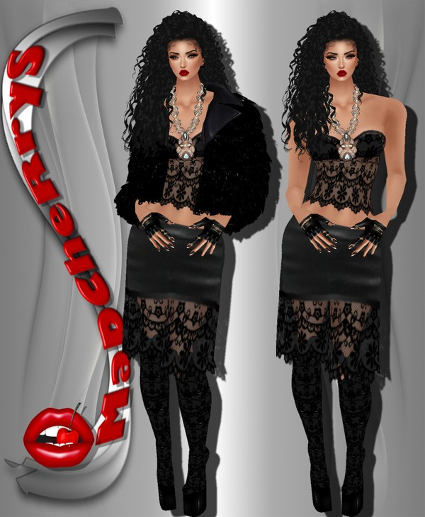 MaD MD 025 Dress+Boots+coat fur With resell rights